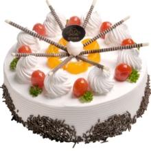 健康水果蛋糕——每一根白巧克力棒都连接着一颗美丽的心!