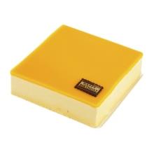 方形芒果芝士蛋糕图片