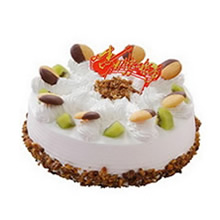 圆形冰激凌蛋糕图片