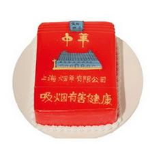 方形水果蛋糕图片