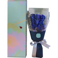 蓝玫瑰,长形礼盒图片