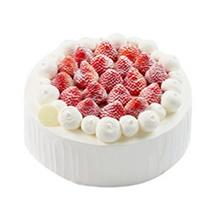 圆形水果彩虹蛋糕图片