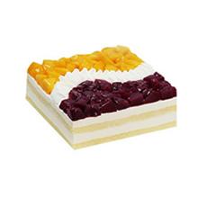 方形慕斯蛋糕图片
