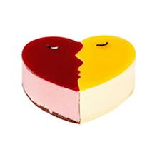 心形慕斯蛋糕图片