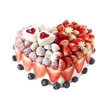 心形个性蛋糕图片
