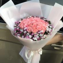 33枝戴安娜玫瑰图片