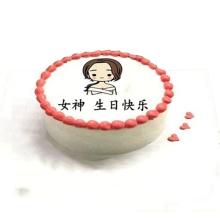 圆形鲜奶蛋糕图片