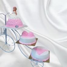 3层支架蛋糕图片
