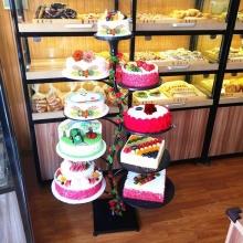 8层支架蛋糕图片