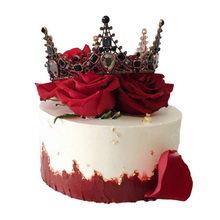 皇冠圆形蛋糕图片