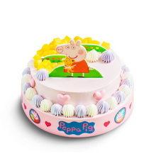 8寸+12寸圆形水果夹心蛋糕图片