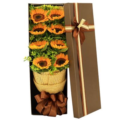 8支向日葵,礼盒款图片