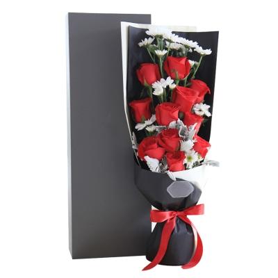 卡罗拉红玫瑰11枝,礼盒款图片