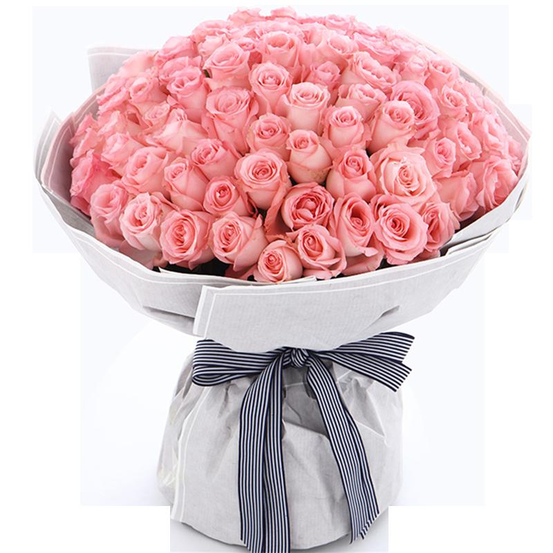 戴安娜玫瑰108枝图片