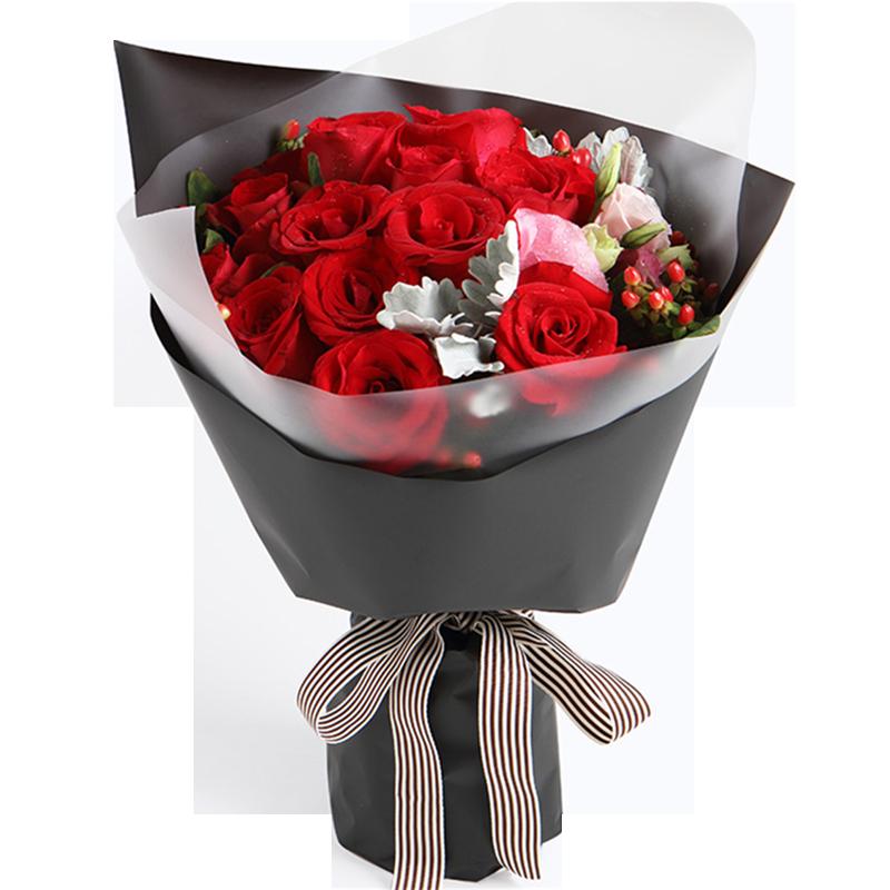 红玫瑰16枝图片