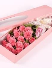 16朵粉康乃馨