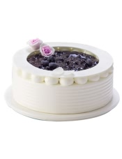 蛋糕图片:蓝莓之恋