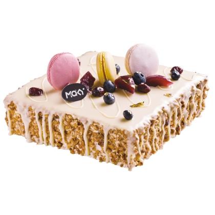 米旗摩卡巧克力榛子蛋糕图片