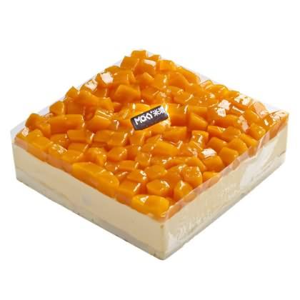 米旗芒果慕斯蛋糕图片