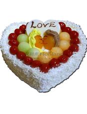 蛋糕图片:KISS