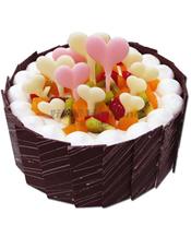 蛋糕图片:爱心世界