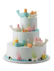 轻芝士蛋糕+酸奶提子夹心  果仁坯+乳脂奶油,规格:30×10+20×10+12×10cm