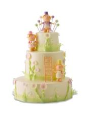 轻芝士蛋糕+酸奶提子夹心 果仁坯+乳脂奶油,规格:30×10+20×15+15×10cm