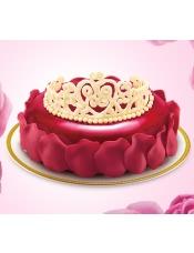 比利时巧克力,草莓,红丝绒,冰淇淋蛋糕