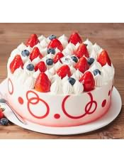 蛋糕图片:双莓之恋2