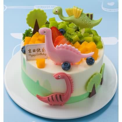 味多美小恐龙蛋糕图片