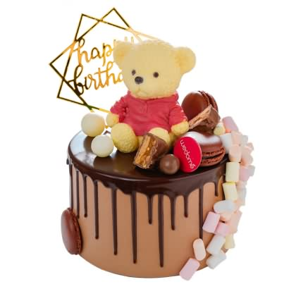 味多美小熊芭迪蛋糕图片