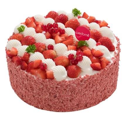味多美草莓丝绒图片