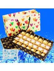 【快递】费列罗巧克力礼盒生日七夕情人节礼物 F28 金莎加拉斐尔