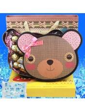 【快递】进口费列罗巧克力DIY小熊礼盒 生日教师节礼物