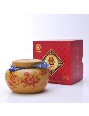 【中茶】2011年吉幸牌紫砂罐装熟沱礼盒装125g