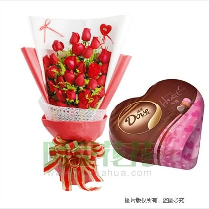 鲜花巧克力/