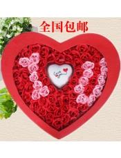 100朵玫瑰香皂花玫瑰花