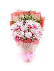 11只粉色韩版钻石时尚可爱猪猪,规格:长60*宽35CM