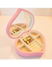木质心形 首饰盒音乐盒