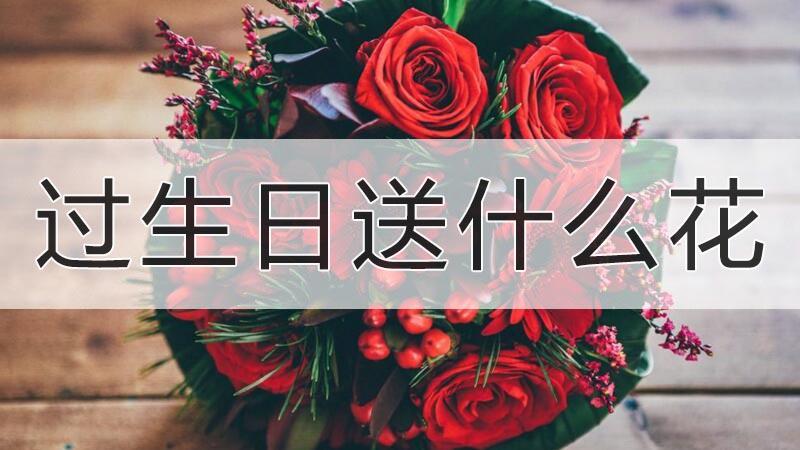 过生日送什么花